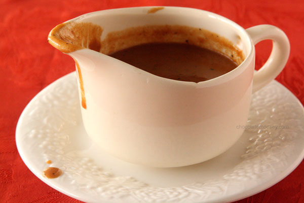 Homemade Gravy (without Meat Drippings) by Chocolate Moosey