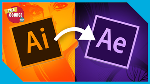 Give your illustrator files motion with After Effects 100% Free Course