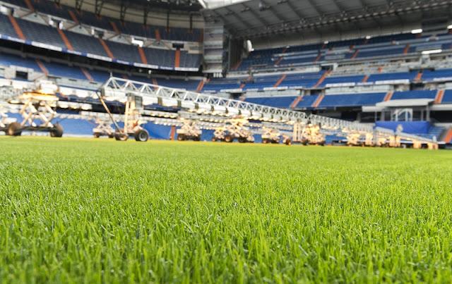 La tele quiere los campos de fútbol más verdes en España