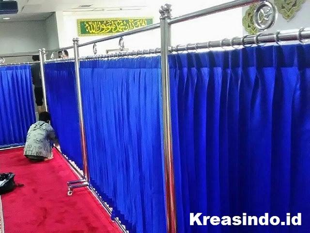 Ketahui Jenis dan Tips Memilih Skat Hordeng Masjid Yang Paling Tepat