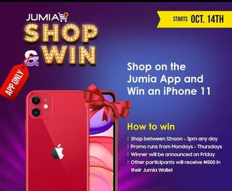 Win iPhone 11 and get quick loan from jumia