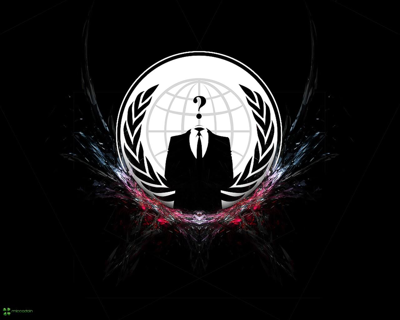 Foto Desain Logo Dan Baju Hacker Anonymous Foto Dan Gambar