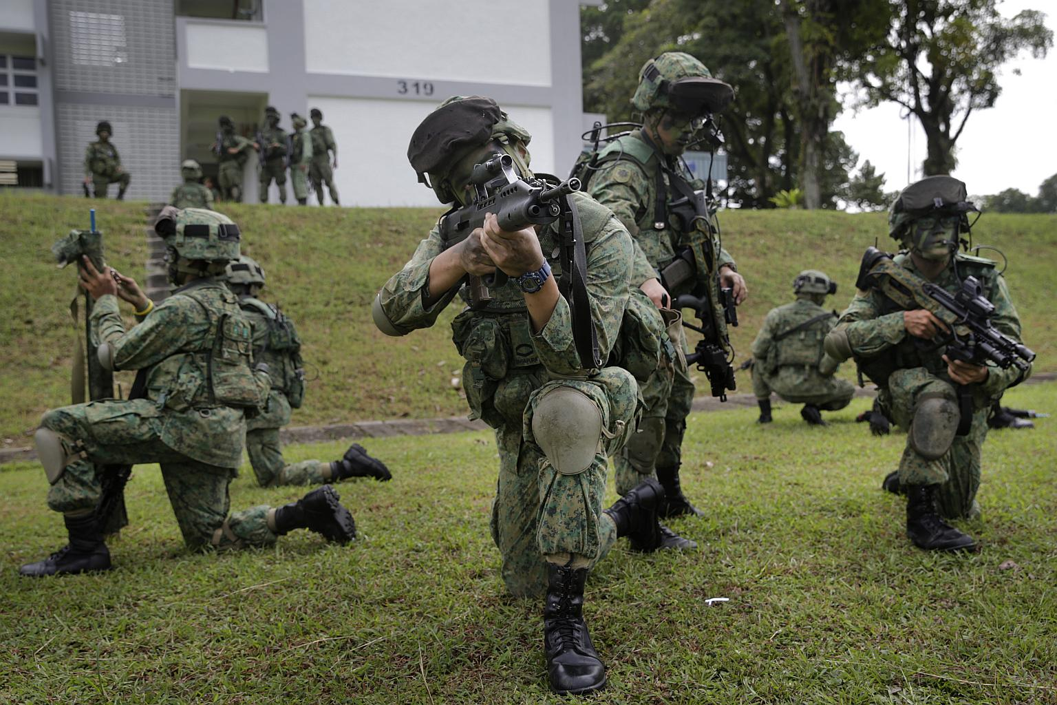 Women and other stakeholders like employers play a part in ensuring Singapore's defence through their support of national service (NS), said Speaker of Parliament Halimah Yacob, as she shared her fears when her older son suffered an injury during NS.