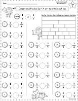 Super Fractions Worksheets