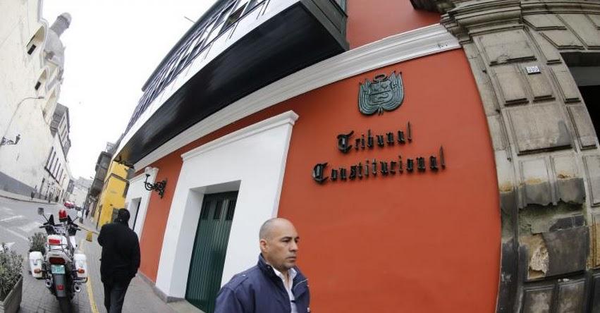 TC: Declaran inconstitucional Ley de Ascensos Automáticos en el Sector Salud