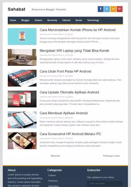 sahabat amp blogger template 2021
