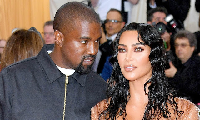 Kim Kardashian and Kanye West's surrogate in labor
