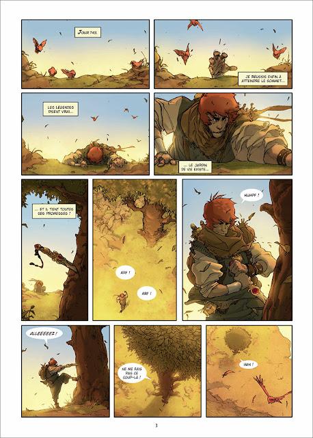 Page extraite des Chroniques Du Roi vagabond T1 Le Premier Mensonge par Prieto, Moreno et Martin chez Delcourt