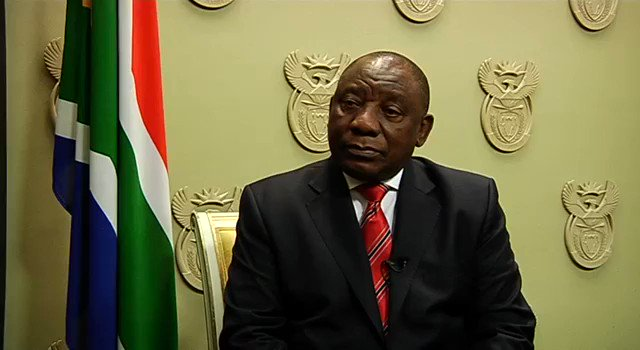 South Africa's President Ramaphosa condemns 'anti-foreigner violence'