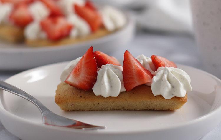 Financiers fraises-tonka