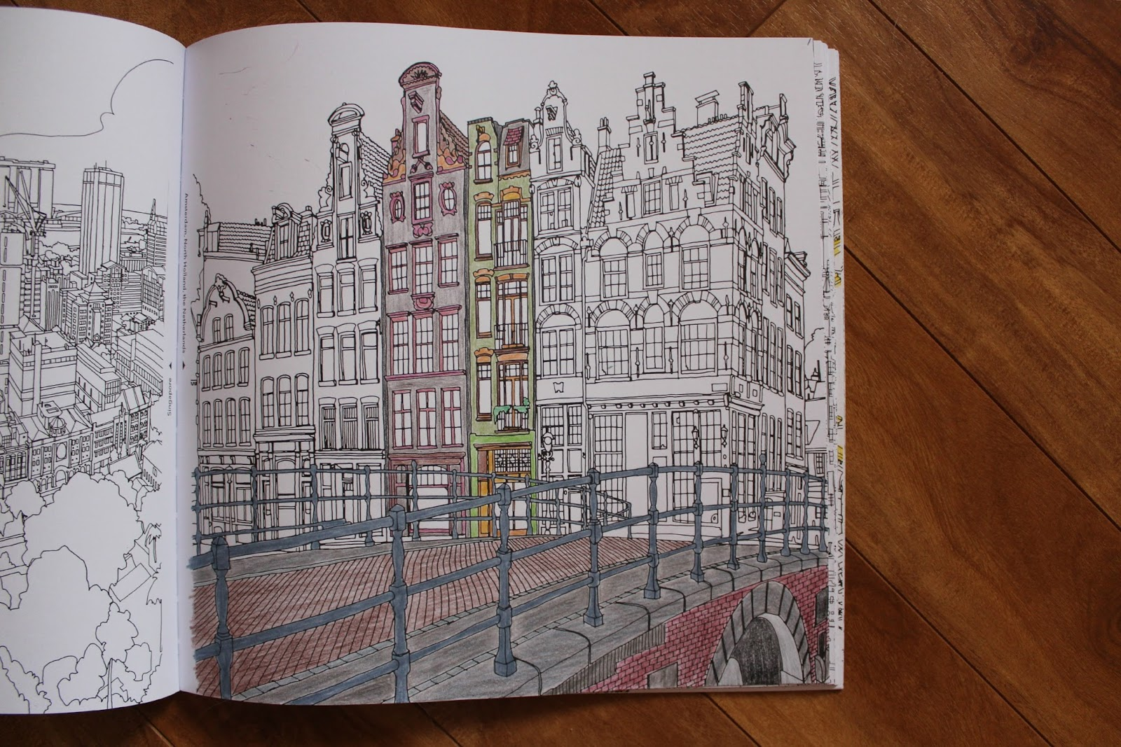 Fantastic Cities Colouring Book Review