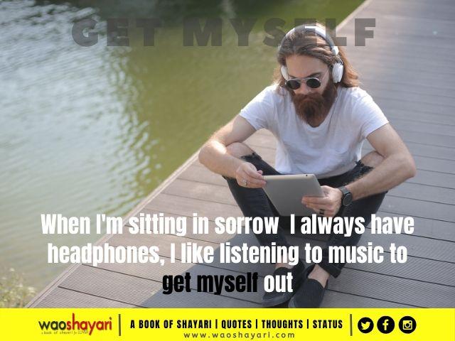 best status for headphones