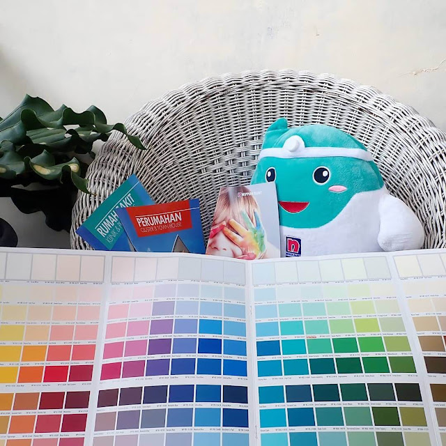 kartu warna nippon paint
