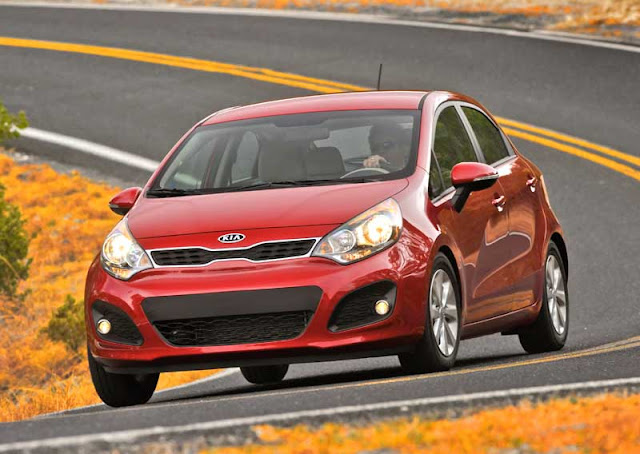 2012 Kia Rio EX five door - Subcompact Culture