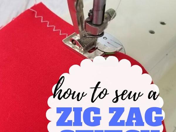 How to Sew Zig Zag Stitches