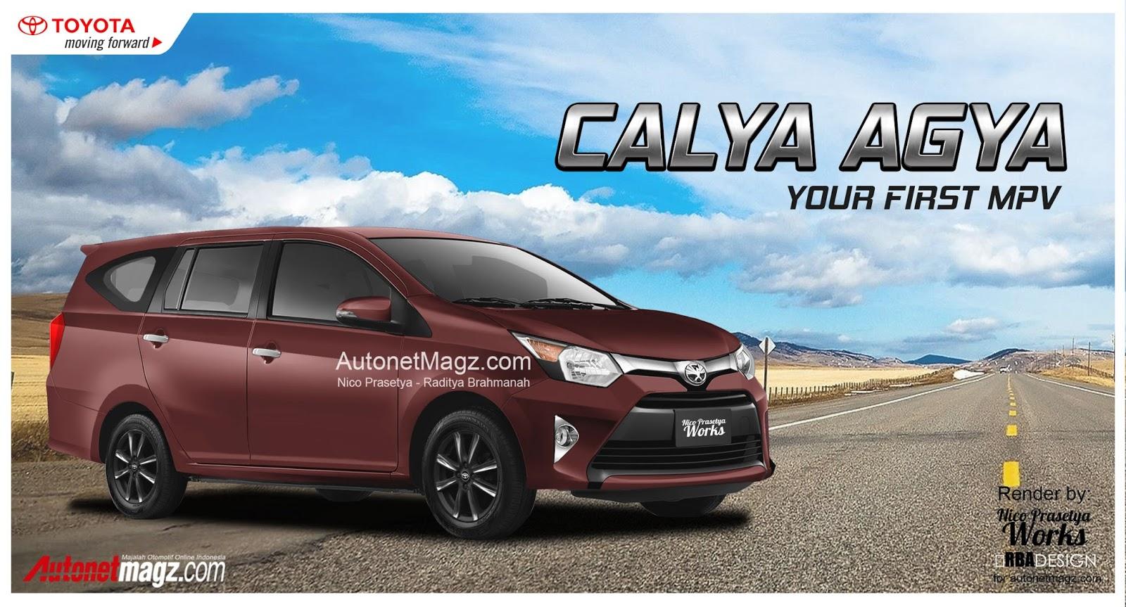 Daftar Harga Terbaru Mobil Toyota New Calya Wilayah Indramayu Jawa
