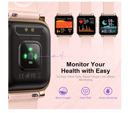 RTAKO Fitness Tracker Waterproof Smartwatch