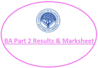 Allahabad University BA 2nd Year Result 2020