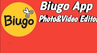 Aplikasi Biugo edit video supaya menjadikan video lebih keren