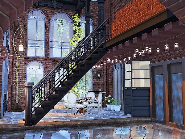 Sims 4 Dreamy Penthouse  城市夢幻閣樓