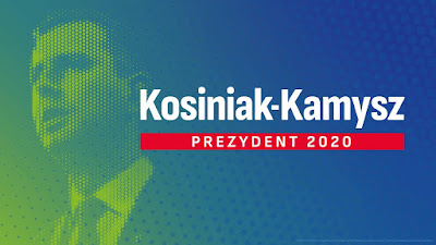 portret Władysława Kosiniaka-Kamysza w grafice wyborvczej