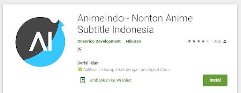 aplikasi  AnimeIndo