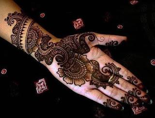 arabic mehndi design easy and beautiful