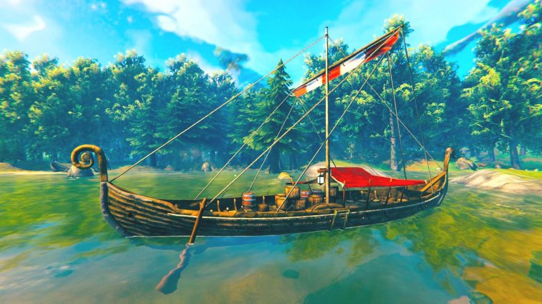 There is a secret ship in Valheim, but nobody knows how to get it legally
