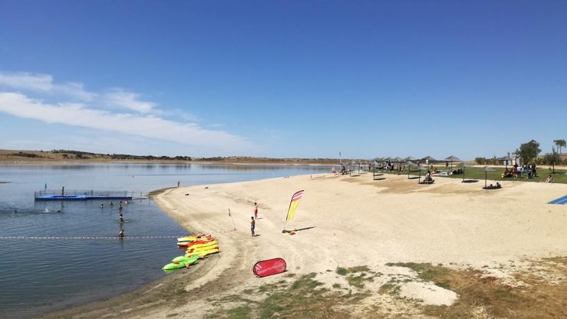 Areal da Praia Fluvial de Mourão