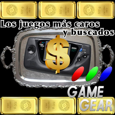top juegos caros game gear