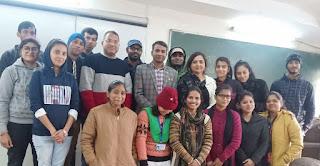 Jaunpur : मनोविज्ञान विषय में कैरियर के अवसर: भविष्य की चुनौतियां एवं समाधान विषय पर हुआ व्याख्यान