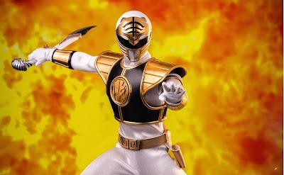 Three Zero Announces The 1:6 Scale Mighty Morphin Power Rangers White Ranger Action Figure