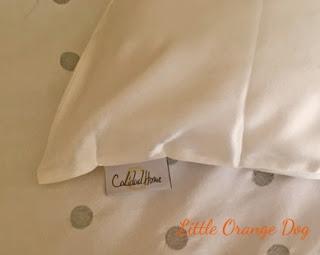Calidad Home Silk Pillowcase - Label