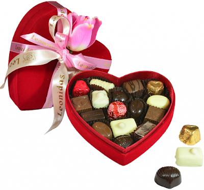 Hør formet chokolade box