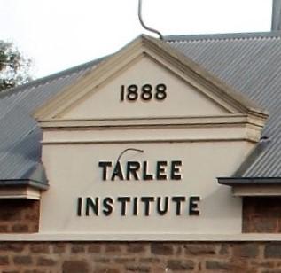 Tarlee Institute dated 1888