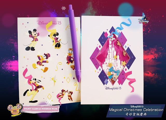利園區香港迪士尼樂園15周年奇妙聖誕慶典 AT LEE GARDENS Magical Christmas Hysan Place 貼出奇妙夢想 明信片