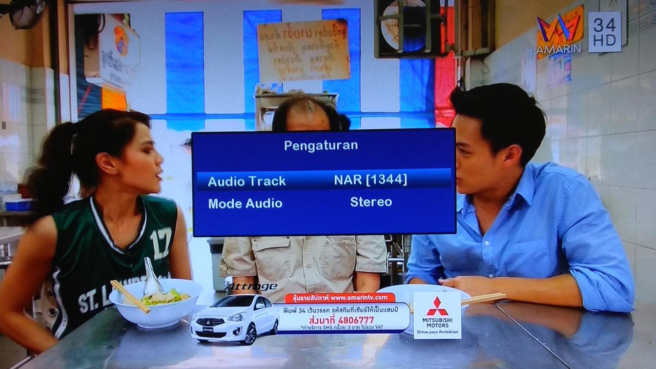 Cara Merubah Audio pada Receiver Matrix Big Burger