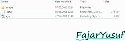 Editing Footer
