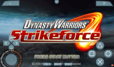 download Game PSP Dynasty Warriors Strike Force ISO