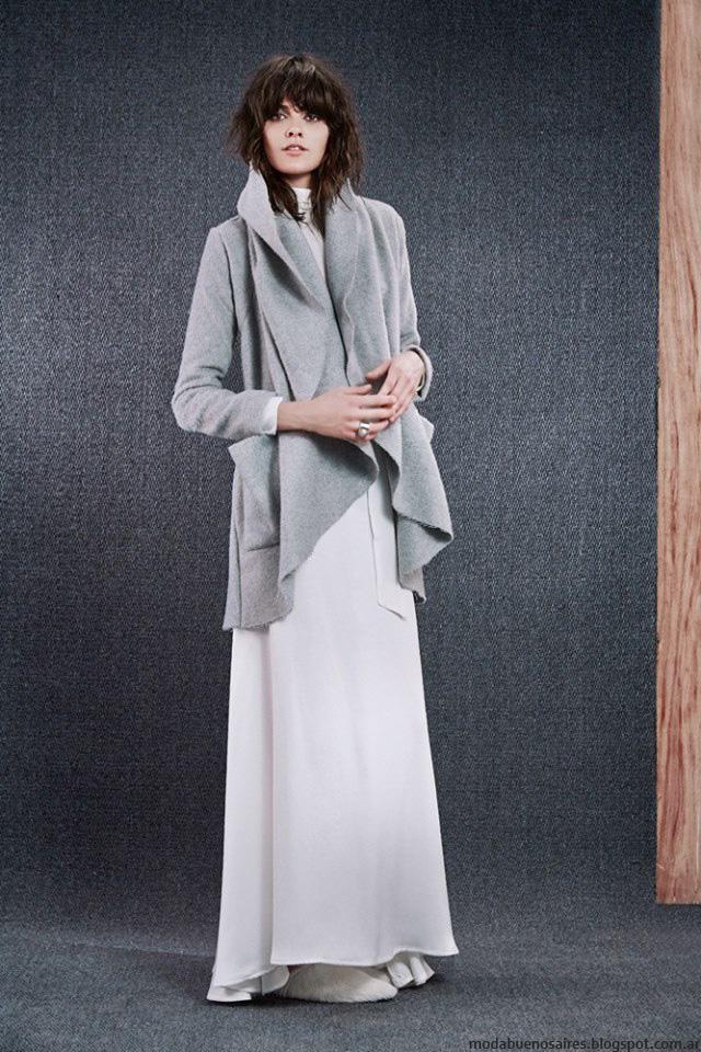 Sacos de moda invierno 2016 ropa Paula Cahen D'Anvers. Moda 2016.