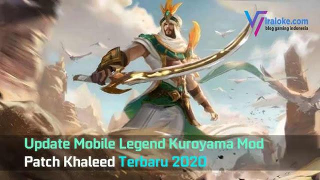 Download Kuroyama VIP Mod patch Khaleed Terbaru Agustus 2020