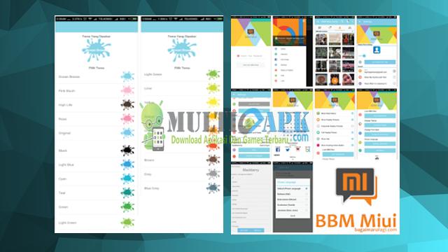 BBM Mod MiUI Terbaru Versi 2.13.9.13 Apk