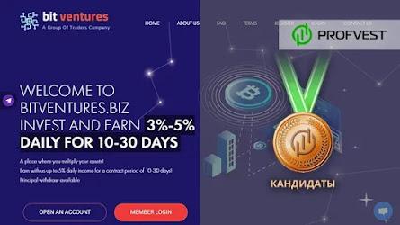 Кандидаты: BitVentures – 33% чистого профита за 10 дней!