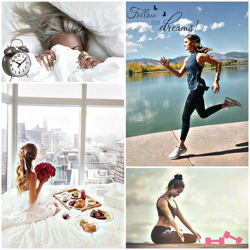 Descanso, alimentación y meditación para una GirlBoss