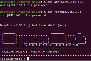 Login via SSH no OpenWRT - TéchneDigitus