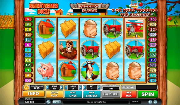 Main Gratis Slot Indonesia - Barnstormer Bucks Habanero