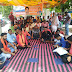 धनबाद में छात्र-छात्राओं पर हुए लाठीचार्ज के विरोध में  देवघर जिला भाजयुमो ने दिया धरना