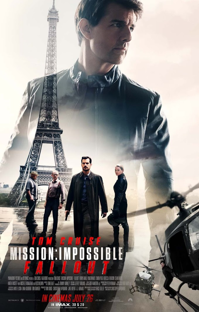 Mission: Impossible 6 Fallout (2018) Dual Audio (Hindi+English) Movie Download in 480p | 720p GDrive