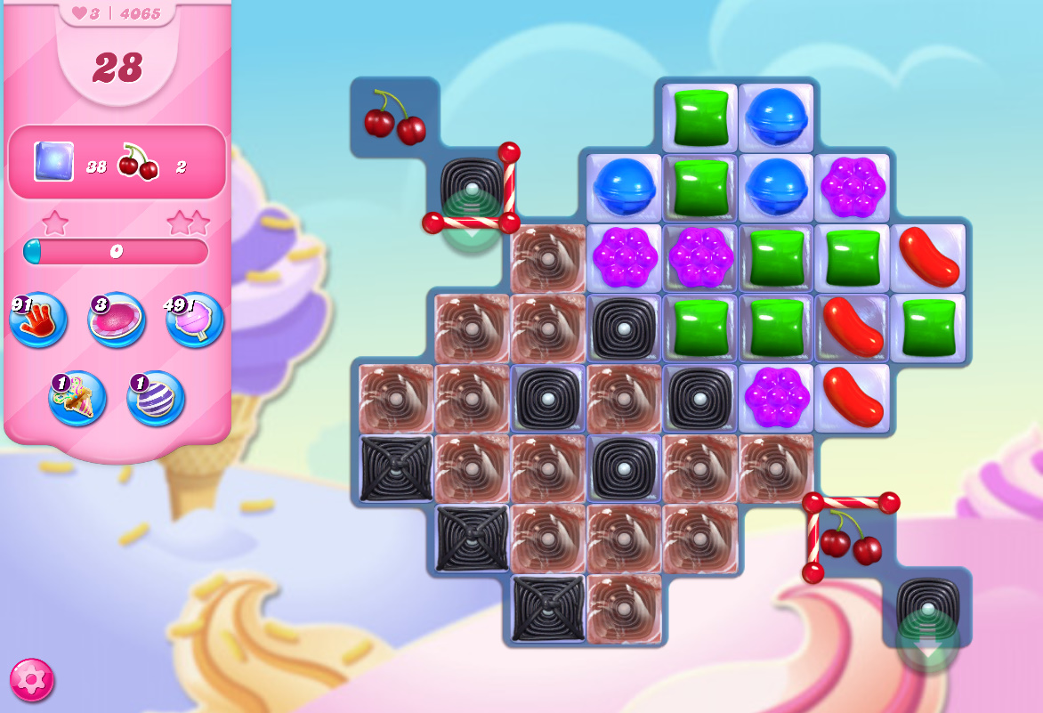 Candy Crush Saga level 4065