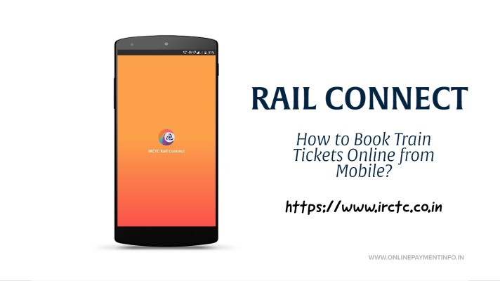 how to book train ticket online from mobile